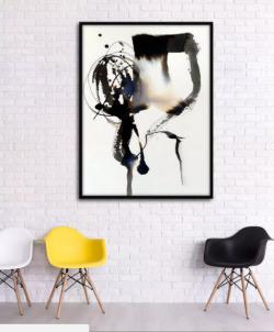 Nghệ thuật trang trí tranh sơn dầu treo phòng khách