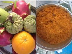Các loại trái cây sử dụng cho mâm cúng khai trương