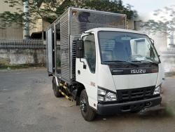 Tư vấn báo giá xe tải Isuzu 2.4 tấn thùng kín