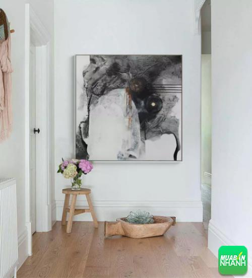 Tạo điểm nhất nghệ thuật với tranh sơn dầu treo phòng khách, 215, Thanh Thúy, Giá bao nhiêu, 30/05/2018 15:24:52